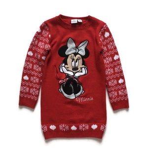 Disney Minnie Mouse Xmas dress, 5-6(116cm)